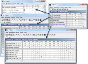 Feature des Entscheidungstabellen-Tools LF-ET: Entscheidungstabellen können beliebig verschachtelt werden